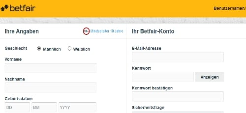 betfair-registrierung