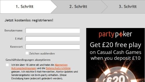 partypoker-registrierung