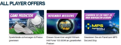williamhill-aktionen