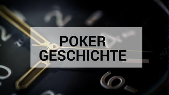 PokerGeschichte
