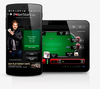 PokerStars App: Anroid