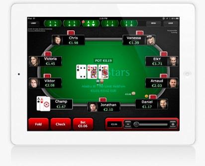 pokerstarsappipad