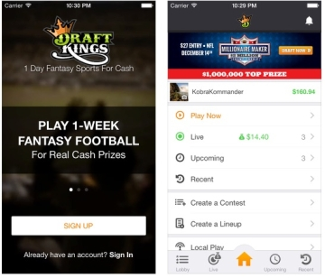 Draftkings Mobile Version