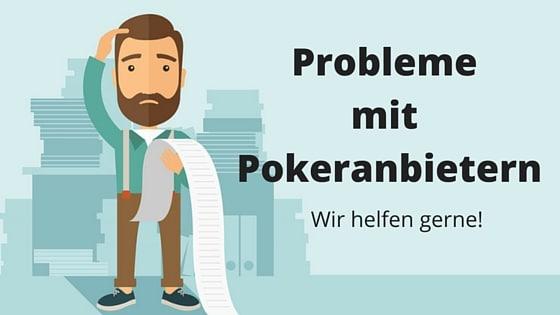 Probleme mit Pokeranbietern